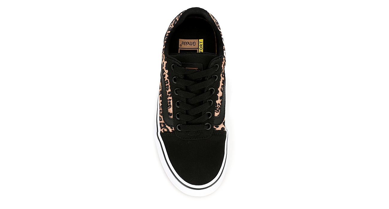 VANS Womens Ward Sneaker - BLACK