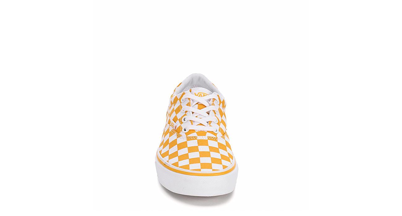 VANS Womens Doheny Sneaker - YELLOW
