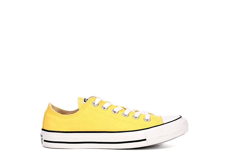 CONVERSE Womens Chuck Taylor All Star Low Sneaker - YELLOW