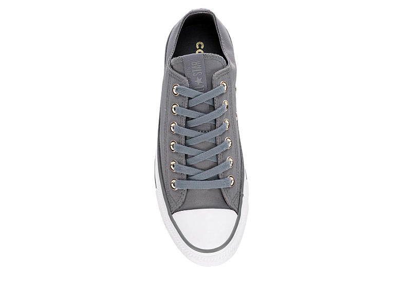 CONVERSE Womens Chuck Taylor All Star Low Sneaker - GREY