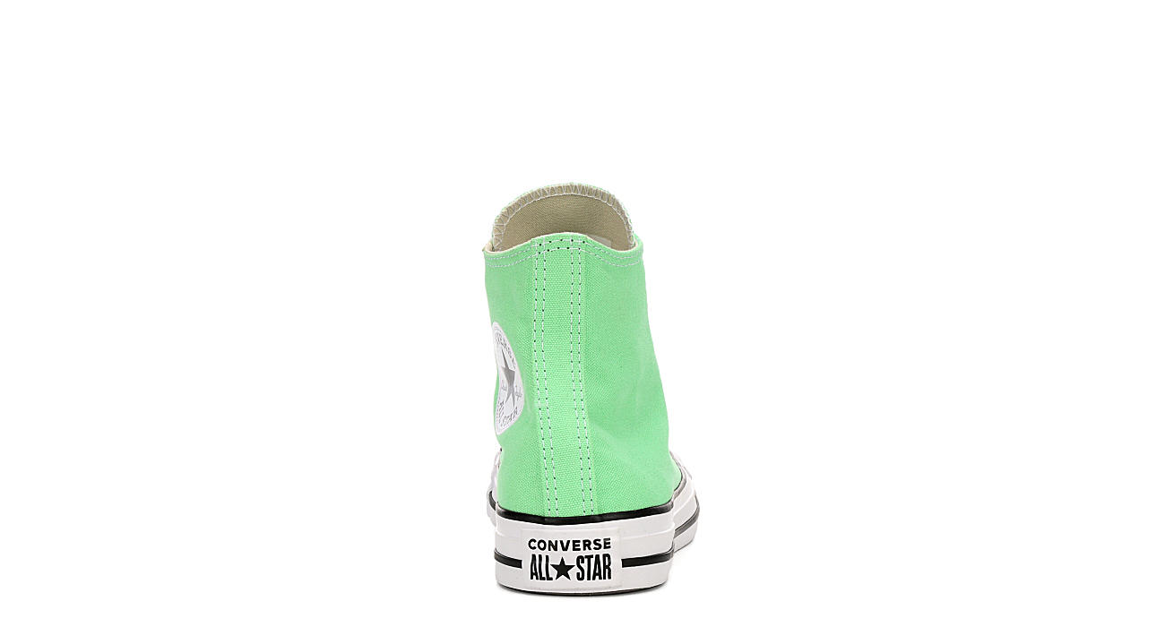 CONVERSE Womens Chuck Taylor All Star High Top Sneaker - LIME
