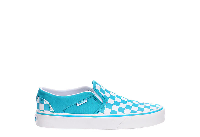 VANS Womens Asher Slip On Sneaker - BLUE