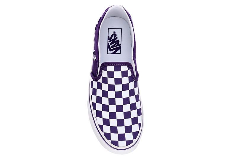 VANS Womens Asher Slip On Sneaker - PURPLE