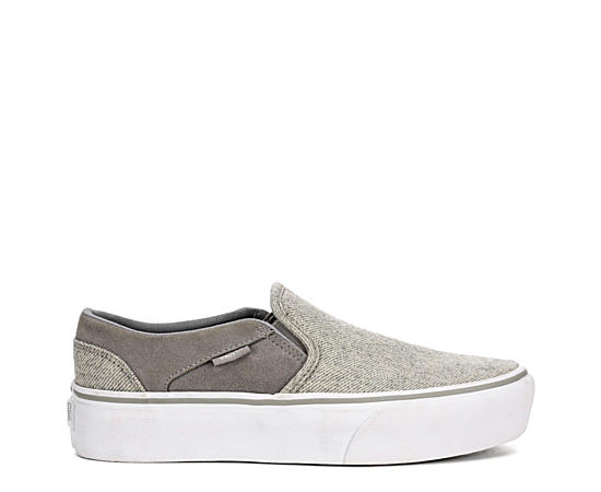 Womens Asher Slip On Platform Sneaker