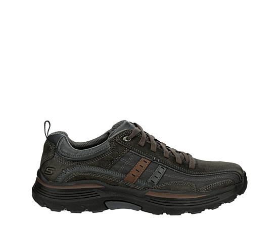 Mens Expended-manden Relaxed Fit Memory Foam Oxford