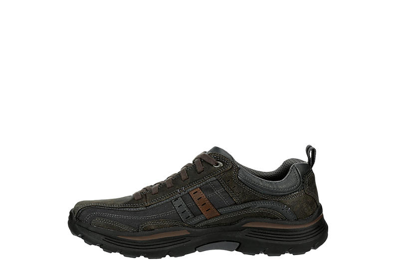SKECHERS Mens Expended-manden Relaxed Fit Memory Foam Oxford - GREY