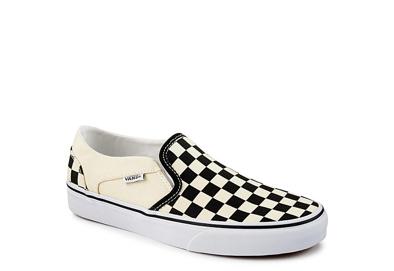 30365e995e0 Vans Asher Checkerboard Women s Slip-On Sneakers