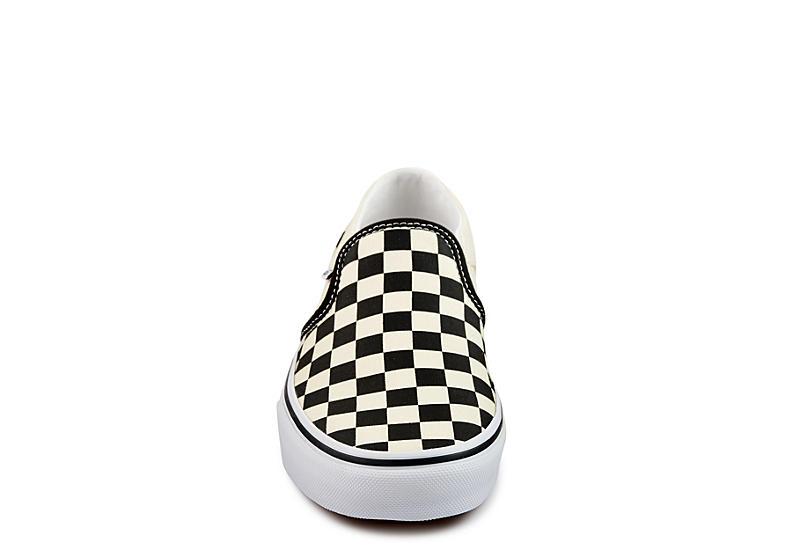 VANS Womens Asher Slip On Sneaker - OFF WHITE