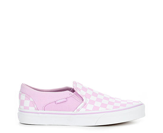 Womens Asher Checkerboard Sneaker