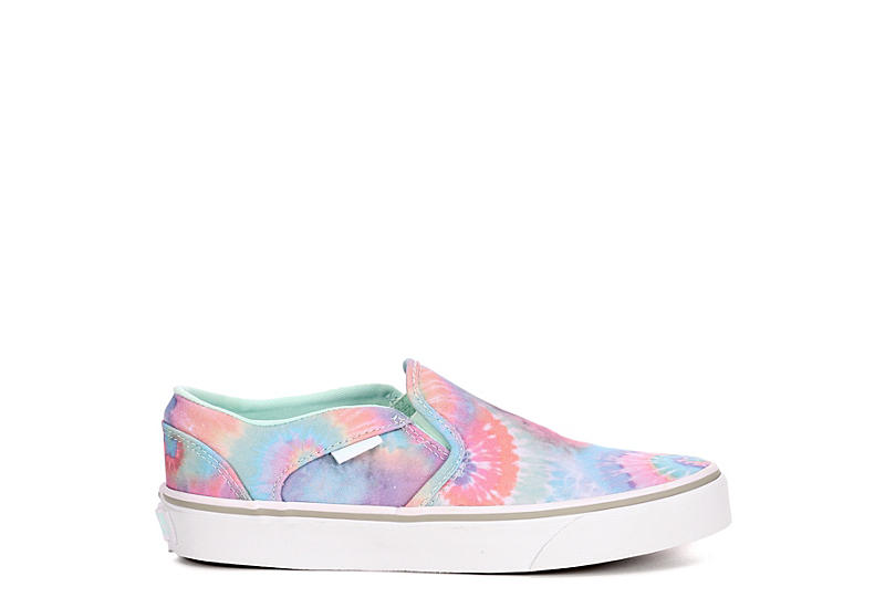 VANS Womens Asher Slip On Sneaker - TIE-DYE