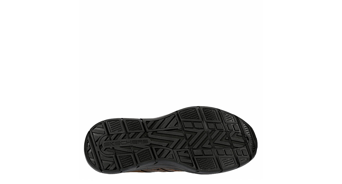 SKECHERS Mens Expected 2.0 Wildon Relaxed Fit Slip On - CHOCOLATE
