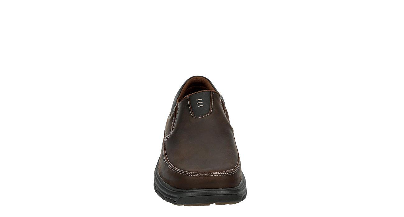 SKECHERS Mens Segment-the Search Loafer - DARK BROWN
