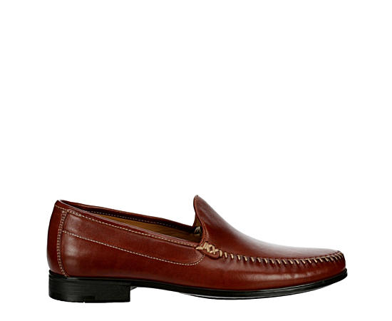Mens Creswell Whipstitch Venetian Loafer
