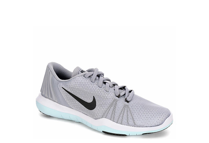 27e1a56805488 Grey Nike Womens Flex Supreme Trainer 5 Training Shoe
