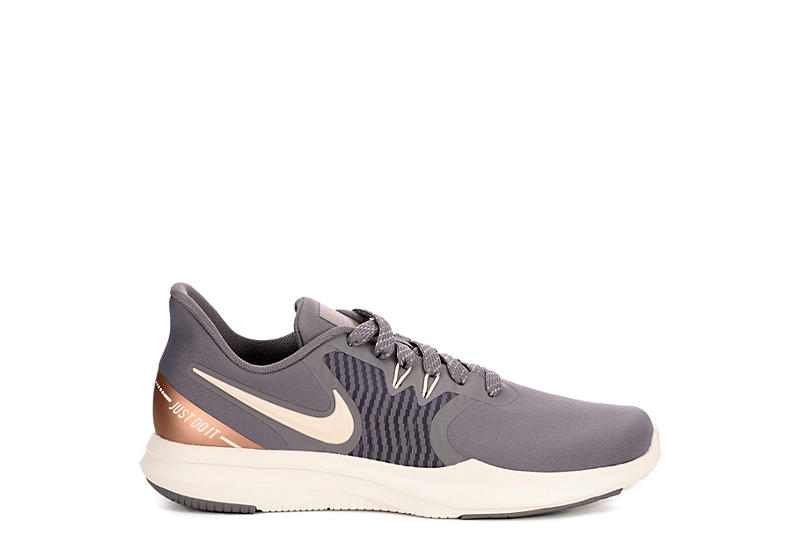 NIKE Womens In Season 8 Training Shoe - GREY