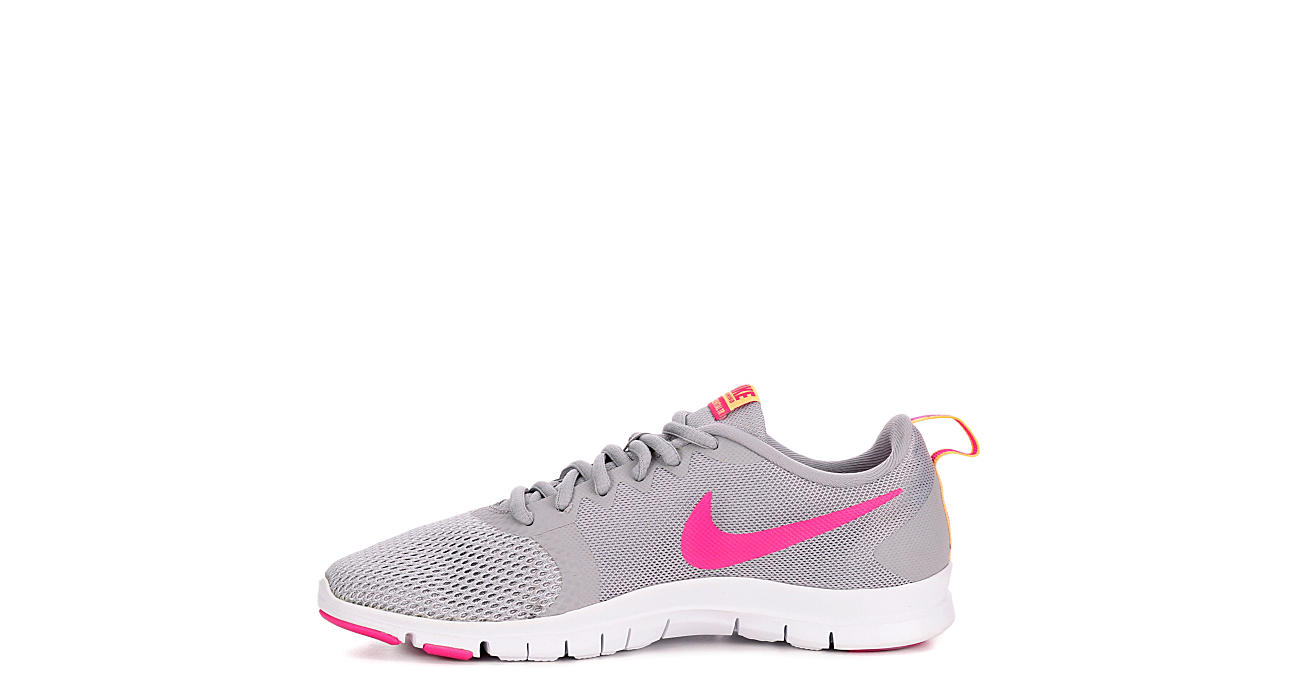 NIKE Womens Flex Essential Tr Training Shoe - GREY