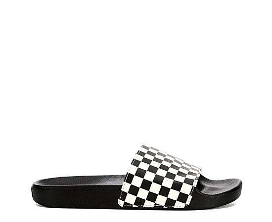Mens Slide On Check