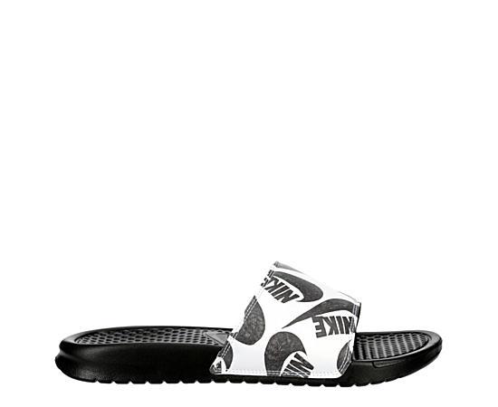 Mens Benassi Jdi Print Slide Sandal