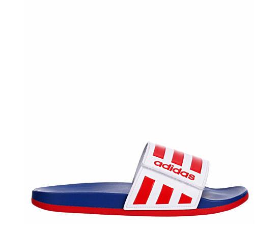 Mens Adilette Comfort Adj Slide Sandal