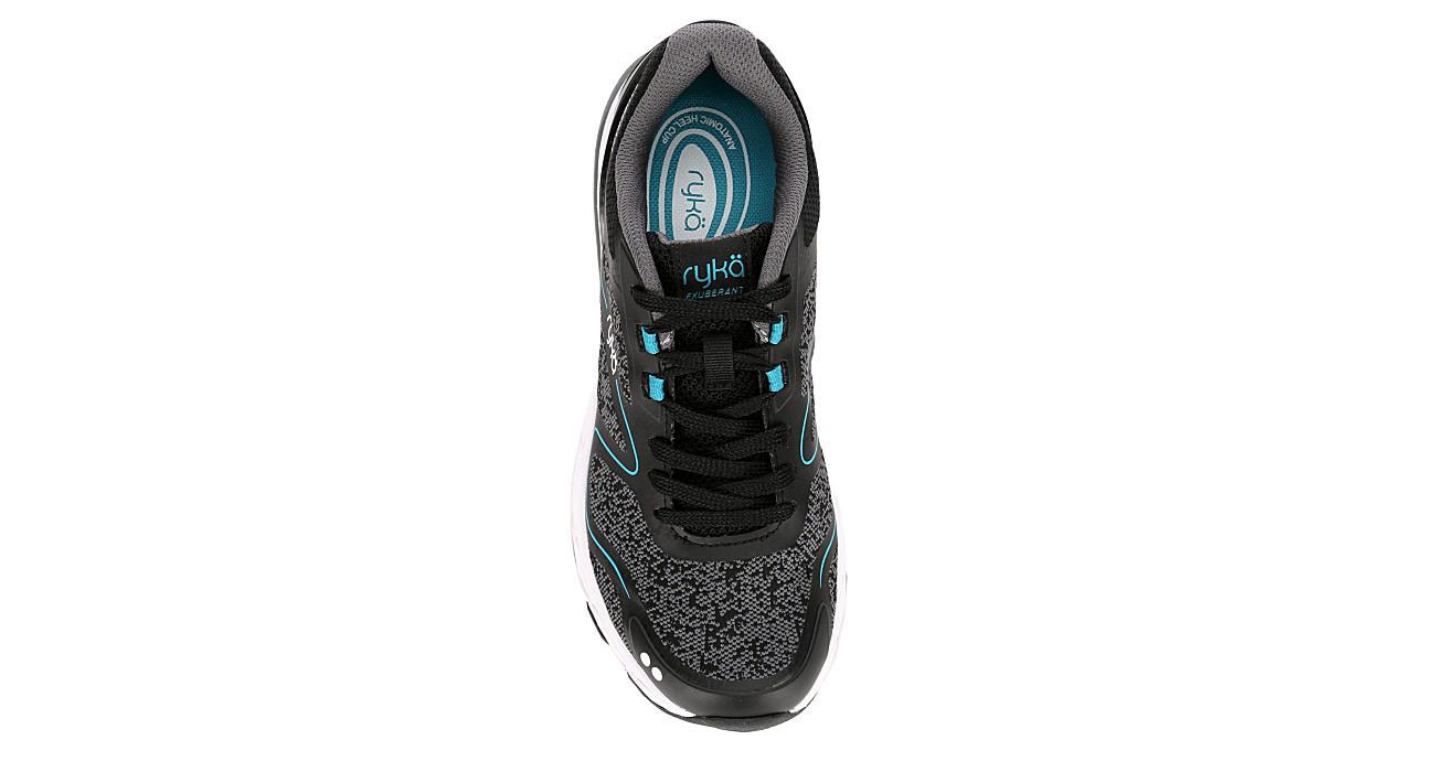 RYKA Womens Exuberant Walking Shoe - BLACK