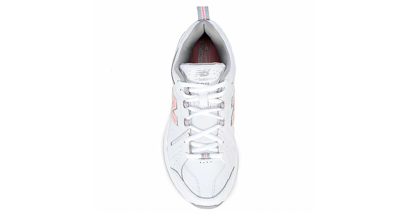 NEW BALANCE Womens 608 V5 Sneaker - WHITE