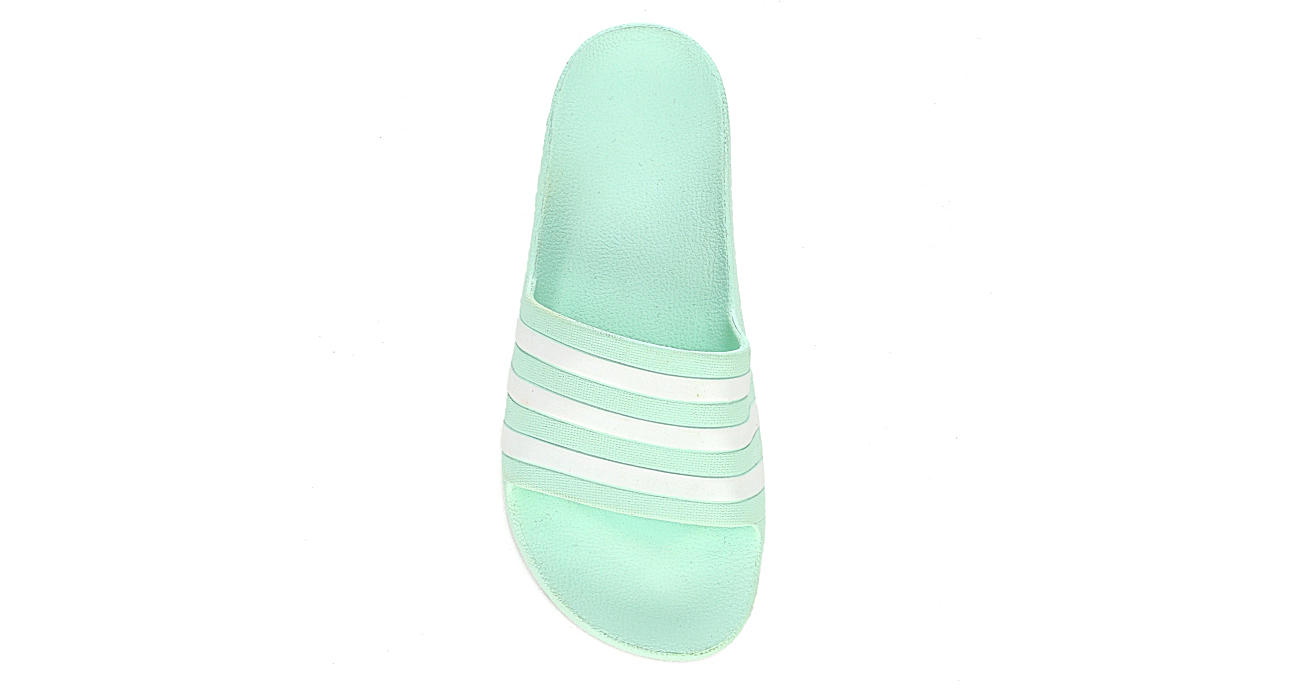 ADIDAS Womens Adilette Aqua Sandal - MINT