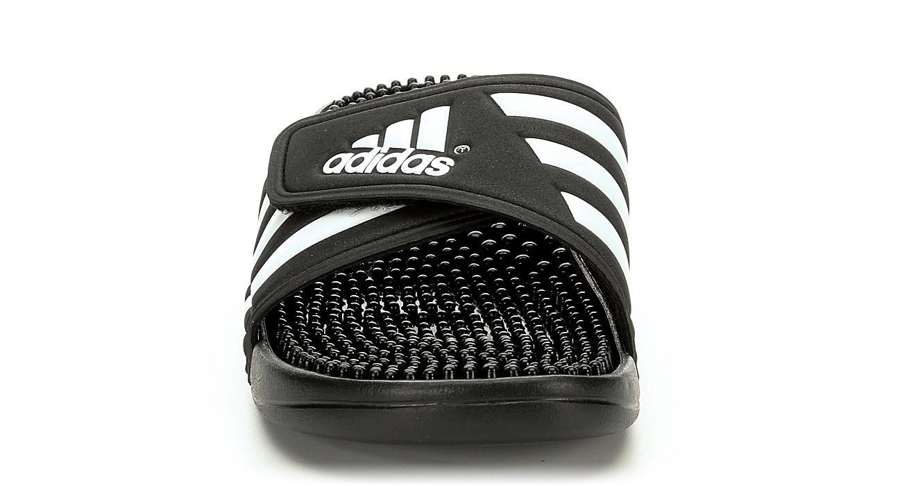 ADIDAS Womens Adissage Slide Sandal - BLACK