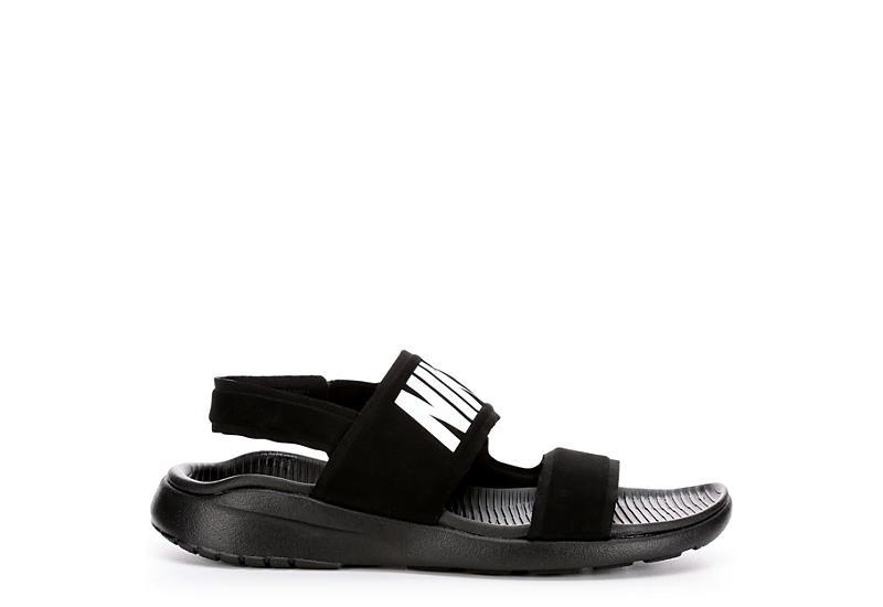 fa46f0d7d65171 All Black Nike Tanjun Women s Sandals