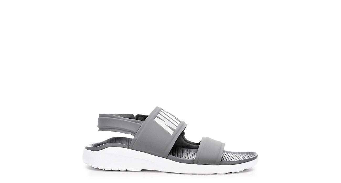 828c26a1b88c Grey Nike Tanjun Women s Sandals