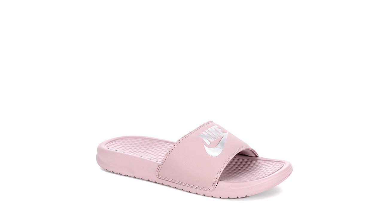 797fbd8e9b1 Nike Womens Benassi Jdi Sandal - Blush