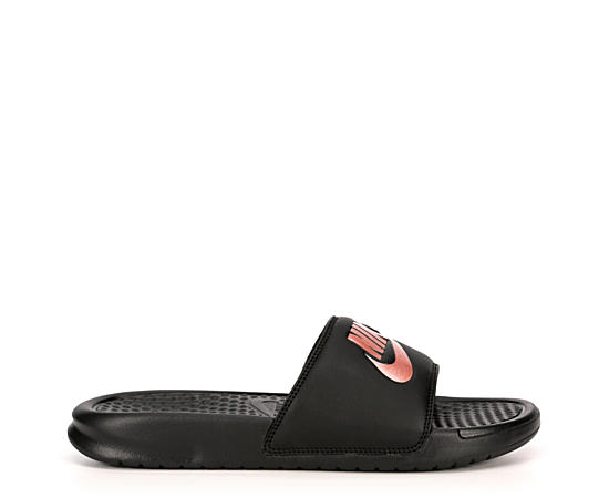 Womens Benassi Jdi Metallic Slide