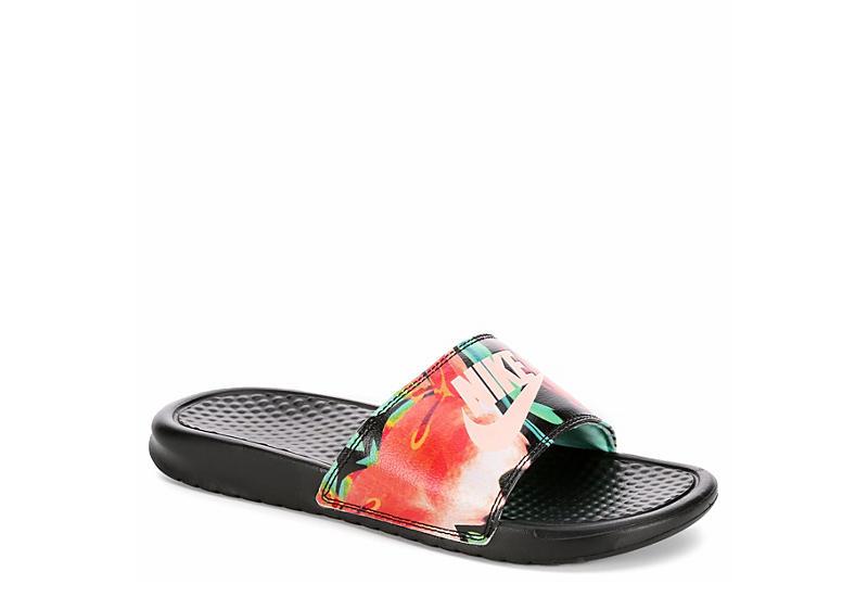 f15570aff037c Nike Womens Benassi Jdi Sandal - Black