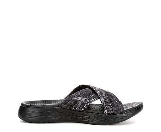 Womens On The Go Crossband Sandal