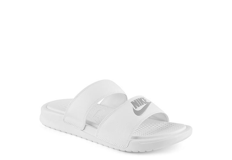 9a6adb4e8 Nike Womens Benassi Duo Sandal - White