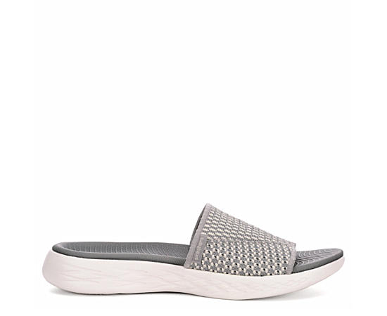 Womens On The Go 600 Knit Slide Sandal