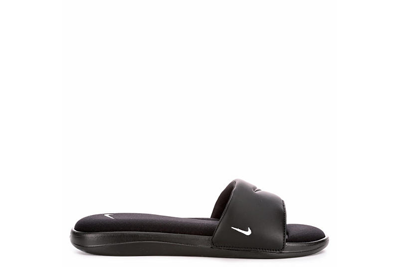NIKE Womens Ultra Comfort 3 Sport Slide - BLACK