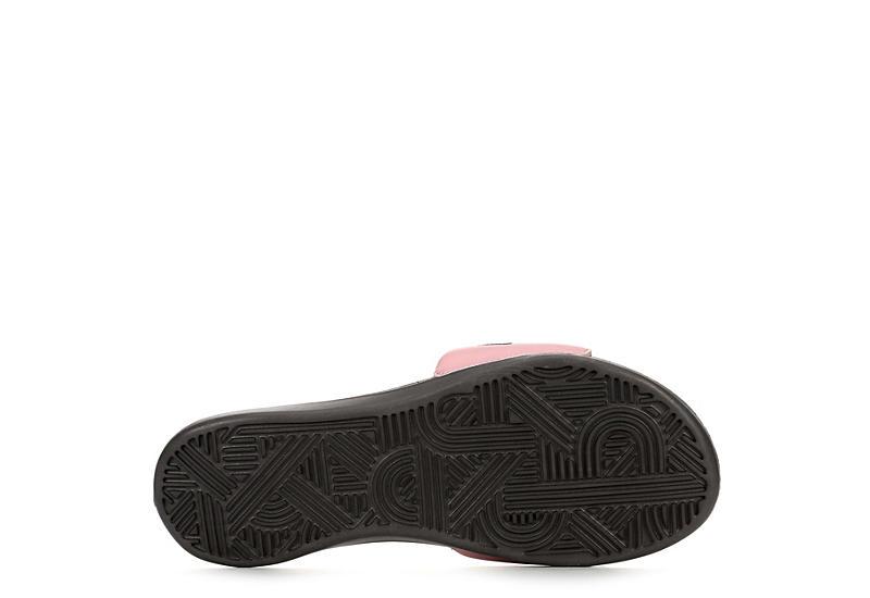 NIKE Womens Ultra Comfort 3 Slide Sandal - GREY