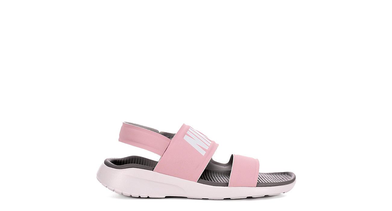 74056f214 Nike Womens Tanjun Sport Slide Sandal - Pink