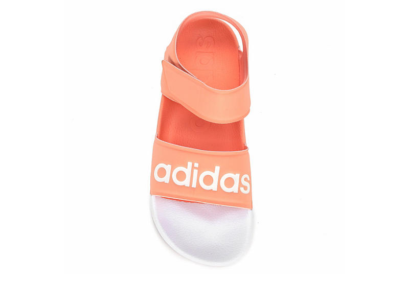 ADIDAS Womens Adilette Sport Sandal - BLUSH