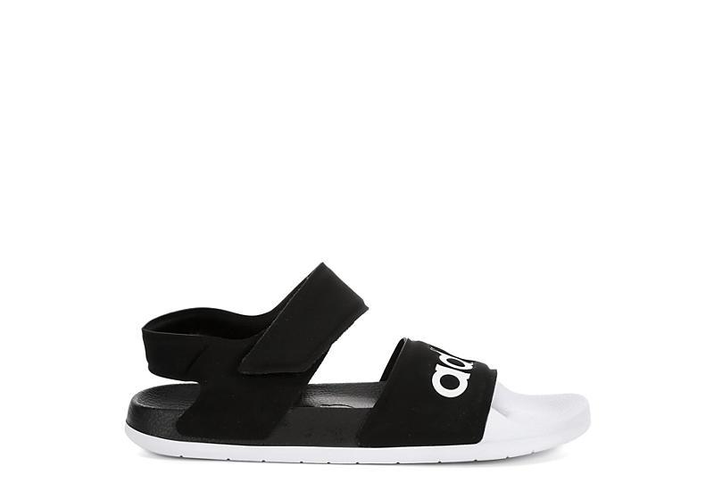 ADIDAS Womens Adilette Sport Sandal - BLACK