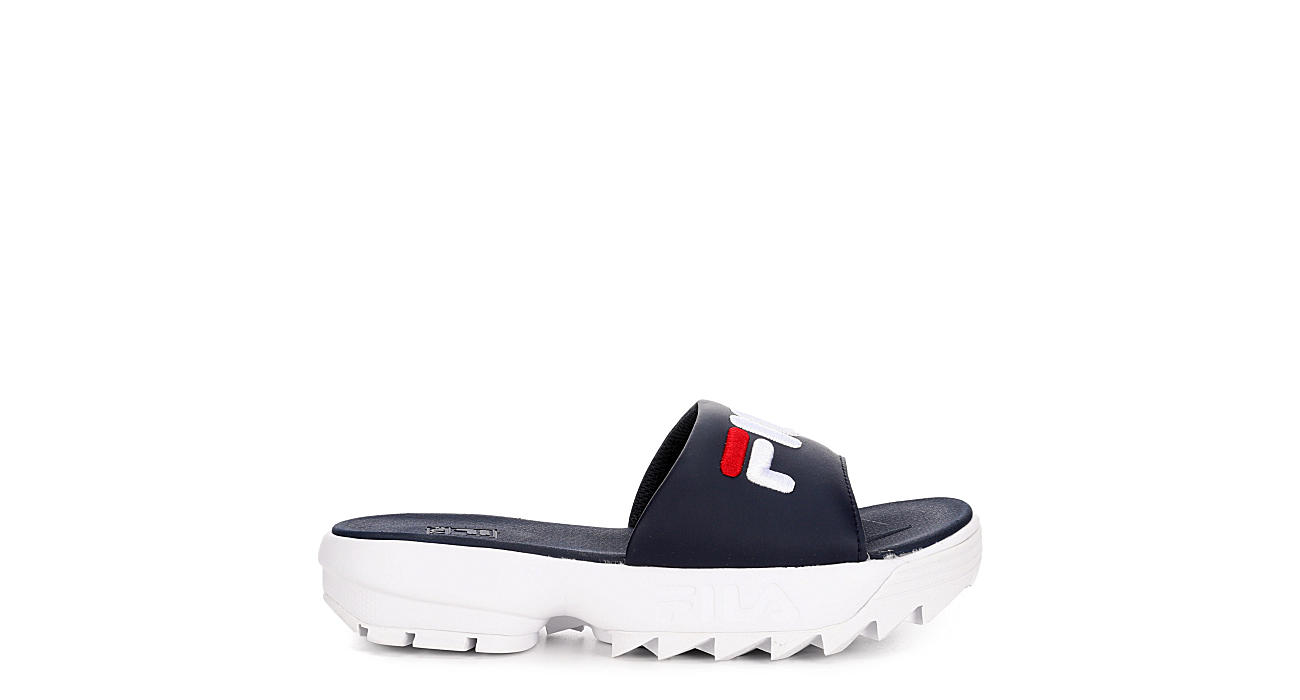 FILA Womens Disruptor Slide - NAVY