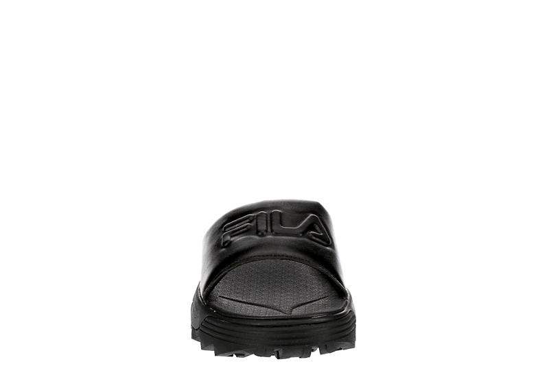 FILA Womens Disruptor Slide Sandal - BLACK