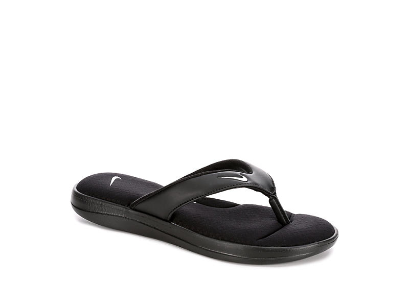 756611606230 Nike Womens Ultra Comfort 3 Thong Sandal - Black