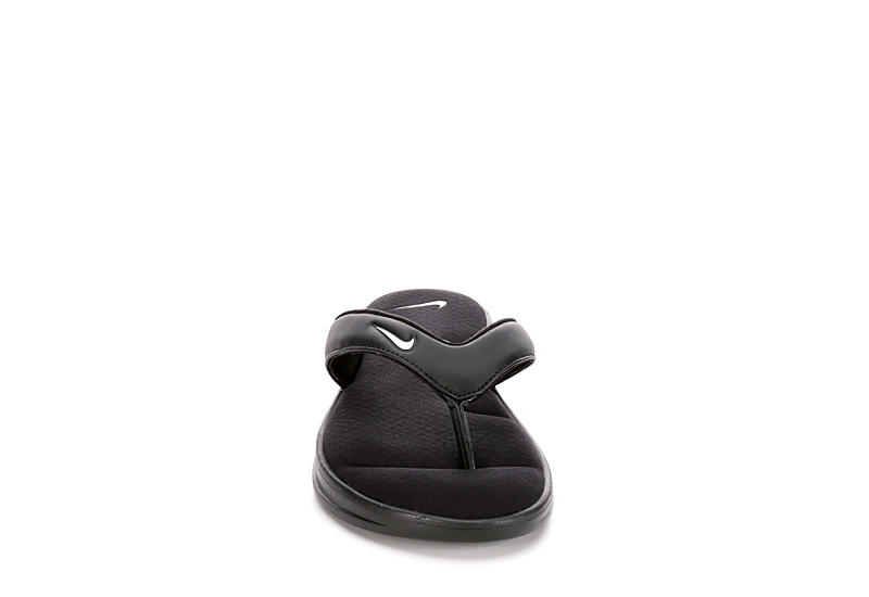 NIKE Womens Ultra Comfort 3 Thong Sandal - BLACK
