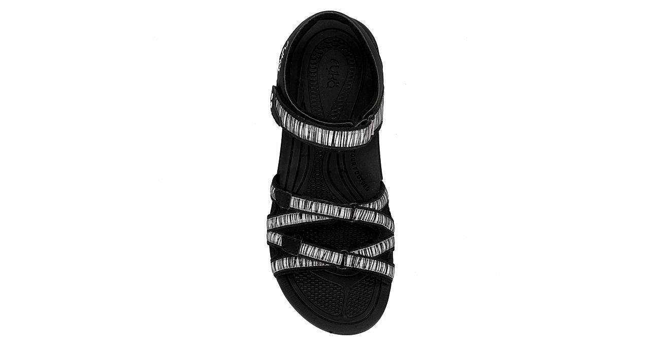 RYKA Womens Savannah Sandal - BLACK