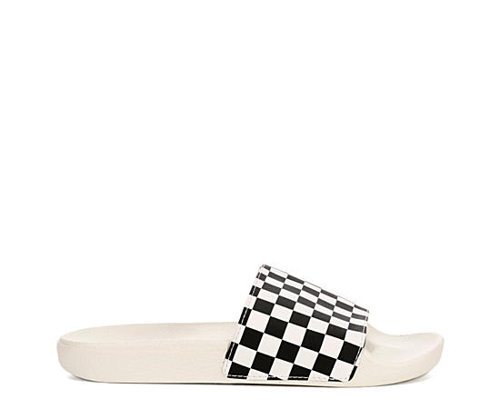 Womens Slide On Check