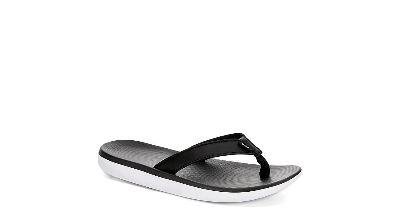 cef81cdac72 Nike Womens Bella Kai Sport Thong Sandal - Black