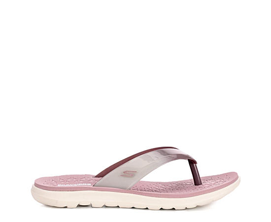 Womens Jelly Flip Flop Sandal