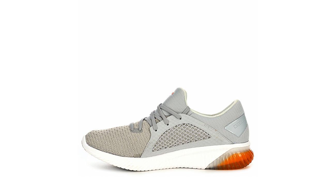 ASICS Mens Kenun Knit Running Shoe - GREY