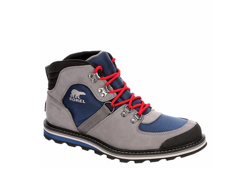 SOREL Mens Madson Sport Waterproof Hiking Boot - GREY